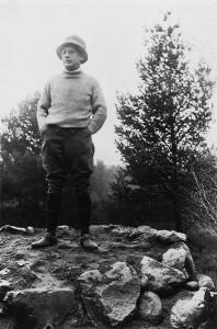 5c Bossard mit Bürgli, ehe Bekroenung gesetzt wurde, 1927 klein (6