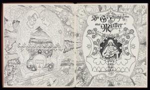 Johann Bossard: Die Geschichte von einer Mutter, Doppeltitel, 1900, BJB2426, Foto: Iris Brandes, Brandes-Design, Buchholz i. d. Nordheide