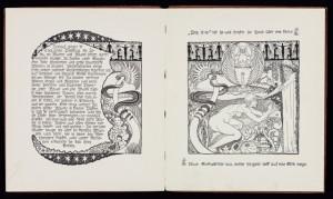 Johann Bossard: Die Geschichte von einer Mutter, Seite 14/15 (n.p.), 1900, BJB2426, Foto: Iris Brandes, Brandes-Design, Buchholz i. d. Nordheide